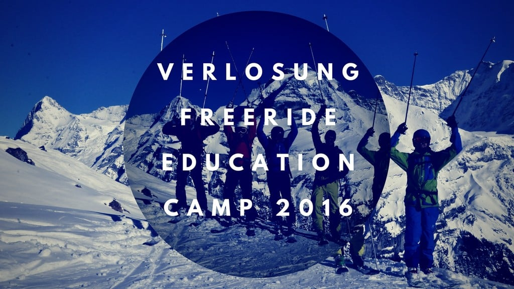 VERLOSUNGFreeride Education Camp