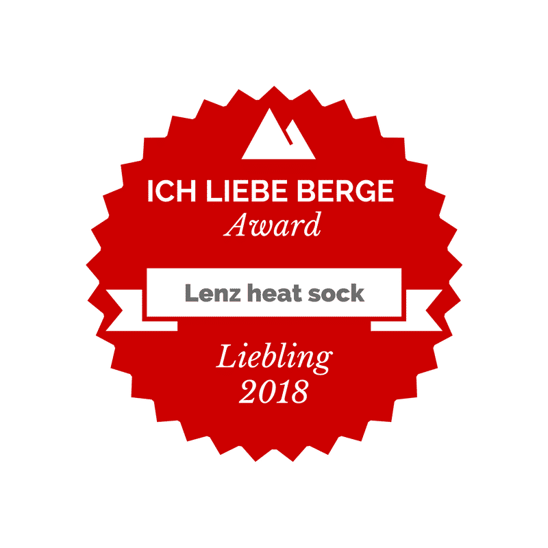 Award Lenz heat sock