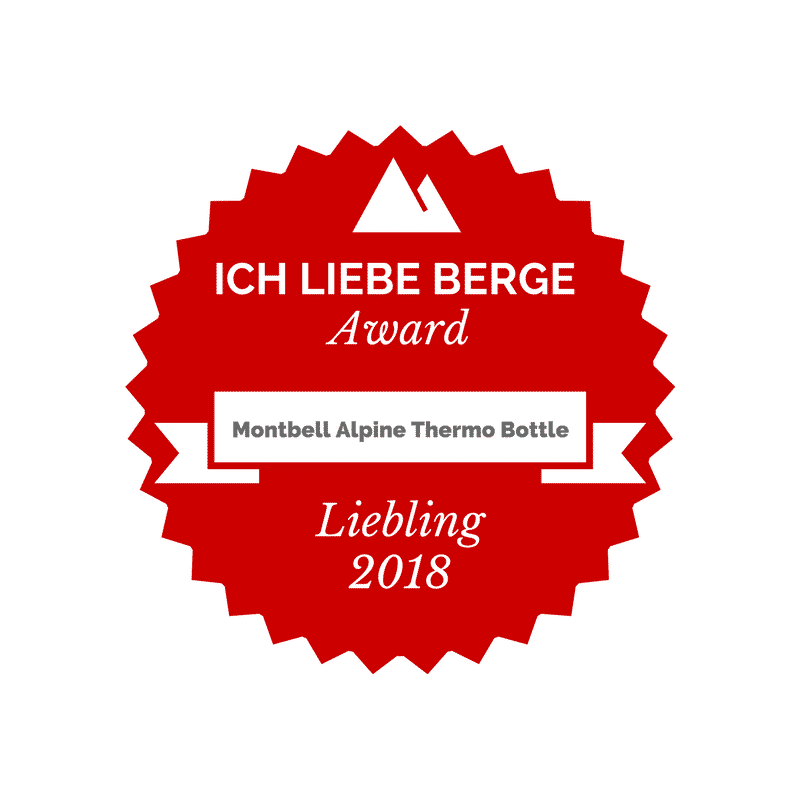 Award Montbell Alpine Thermo Bottle
