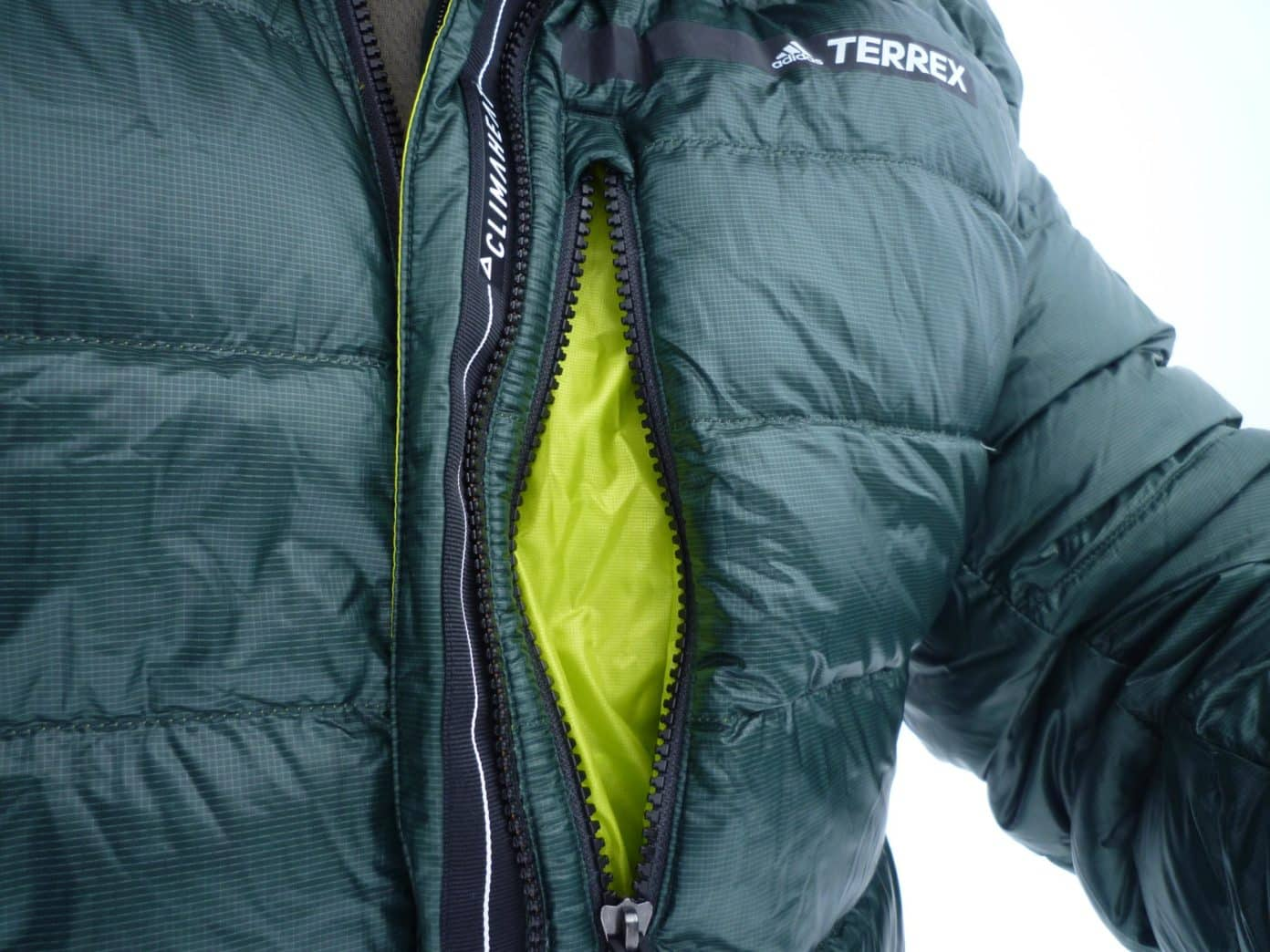 adidas Terrex Climaheat Advanced Down Hooded Jacket 05