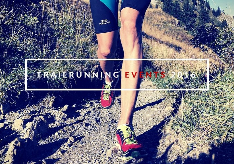 Trailrunning Events 2016